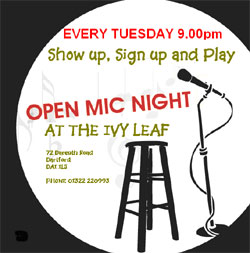 Open Mic Night at The Ivy Leaf